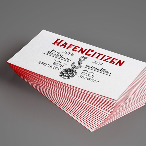Craft beer brewery from Hamburg (Germany) needs a new identity! Design von Henning Bo