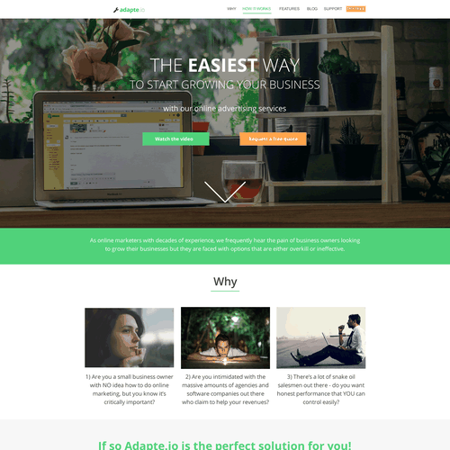 Runner-up design by codereductor