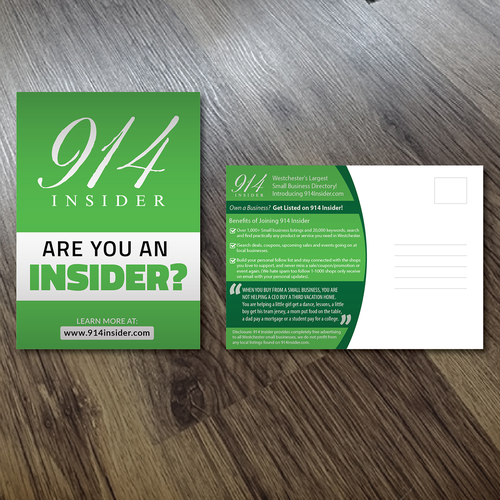 post card design Design by Alex.V
