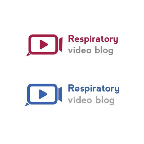 Create a logo for a respiratory video blog logo design for Create blog logo