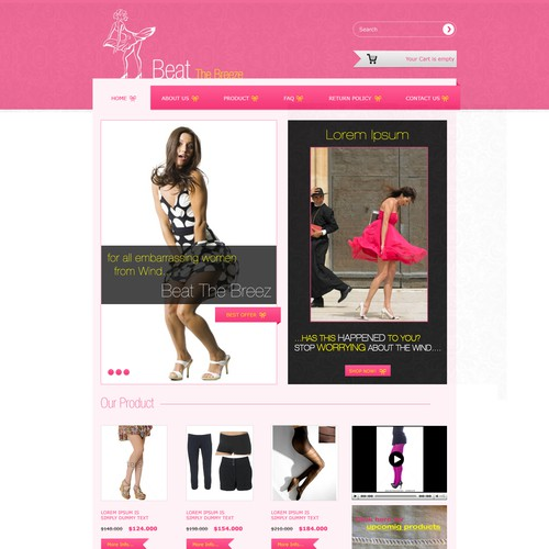 Runner-up design by ExcellenceTech