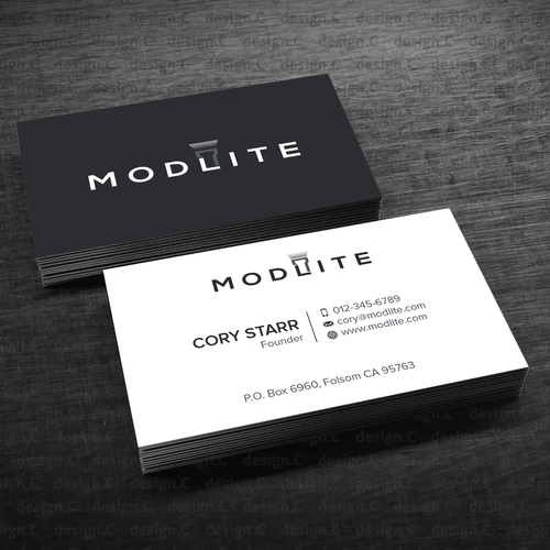 Modlite Systems Business Cards | Business card contest