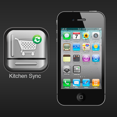 "Icon Needed For New IOS App: ""Kitchen Sync"""
