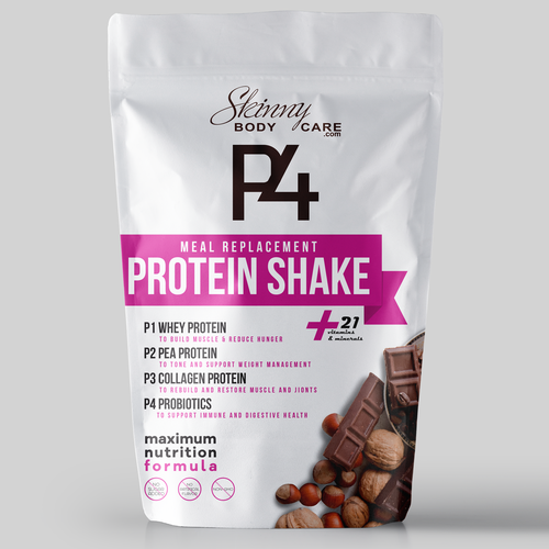 Protein Shakes Needed: ***Guaranteed Prize*** PACKAGING DESIGN FOR NUTRITION