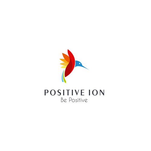 design a creative logo for positive ion ロゴデザインコンペ