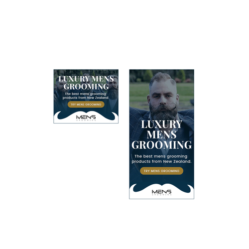 Banner Ad For A Mens Grooming Company Banner Ad Contest 99designs