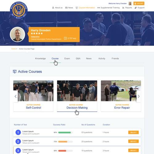 Dating law enforcement website