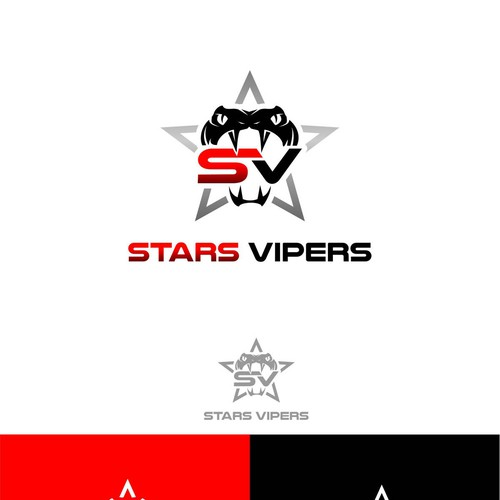 Stars vipers all star cheer logo design contest Logo design competitions