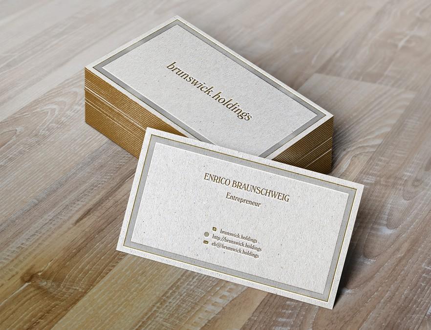 Fast Private Businesscard Für Branchenunabhängigen