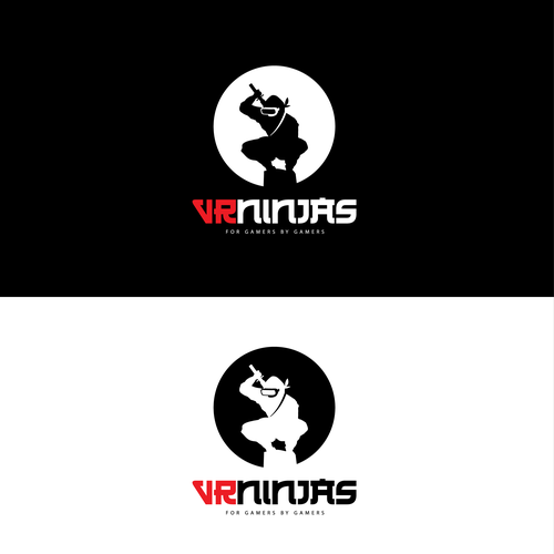 VR Ninjas - Logo That Pops - Global Launch Design by ElectrifyingNoob