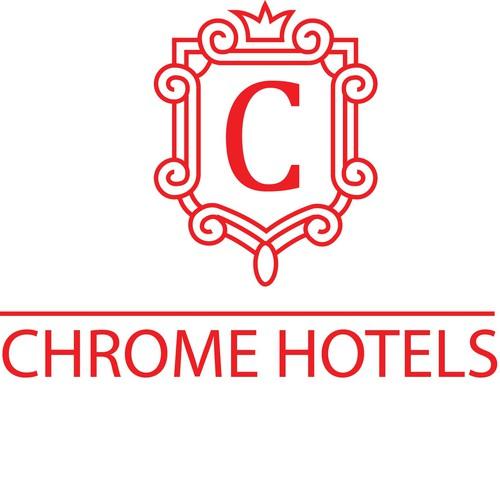 Chrome hotels logo design contest for Design hotels logo