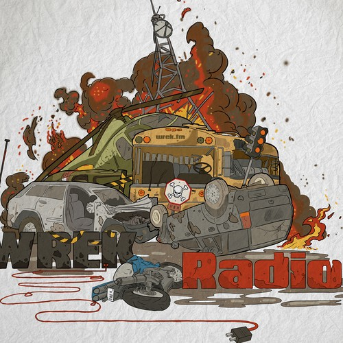 Illustration-Logo Design for an Online Podcast Network Ontwerp door schabo