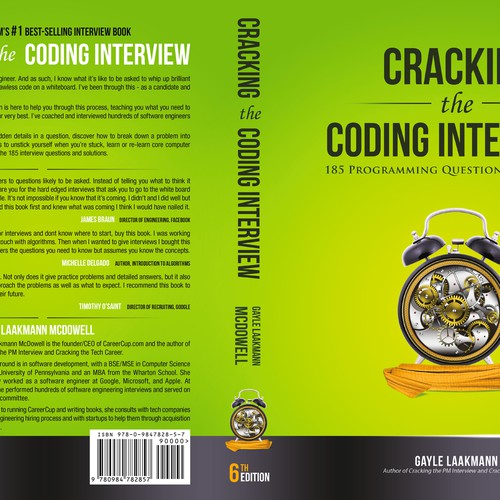Amazon's #1 best-selling interview book needs a back cover