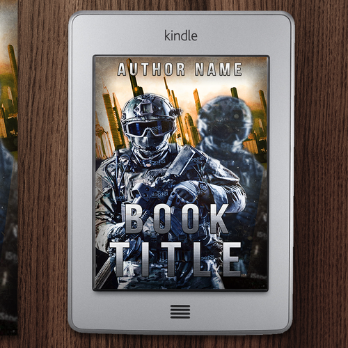 Kindle Book Cover Art : Create kindle cover art for military sf novella book