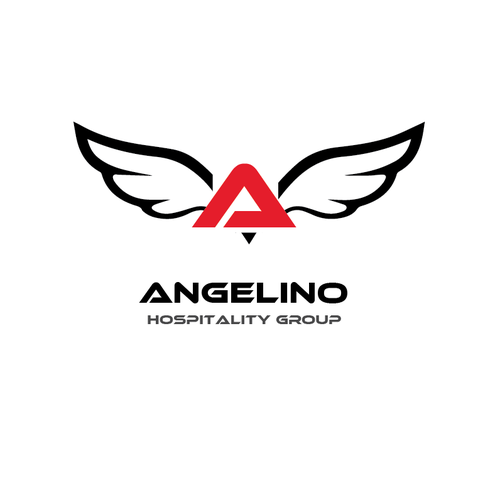 Corporate logo for angelino hospitality group los angeles Logo designers los angeles