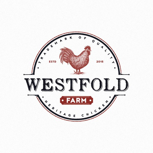 Chicken Lovers! Create a logo and brand identity for ... Chicken Farm Logo Design