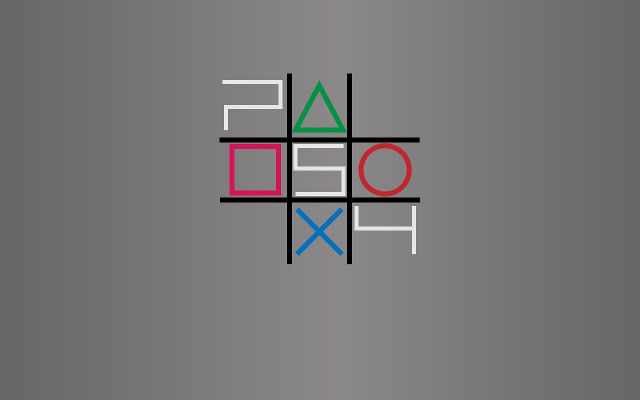 PS4 tic tac toe
