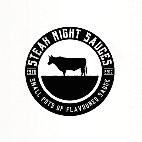 Design A Food Packaging Logo For Steak Night Sauces Logo Design Contest 99designs