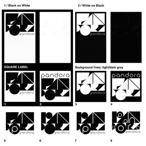 Design a Wine Label called 'Pandora' Design by riklisci