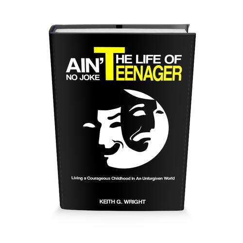"""""""Ain't No Joke"""" Book Series Cover Design Ontwerp door benzplay"""