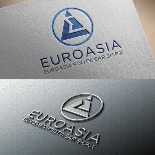 design logo for euroasia footwear logo design contest 99designs design logo for euroasia footwear