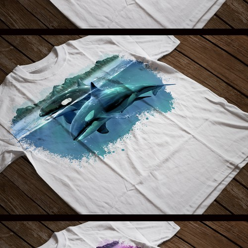 Orca - Also known as the Killer Whale Design by JACK - Fstudio