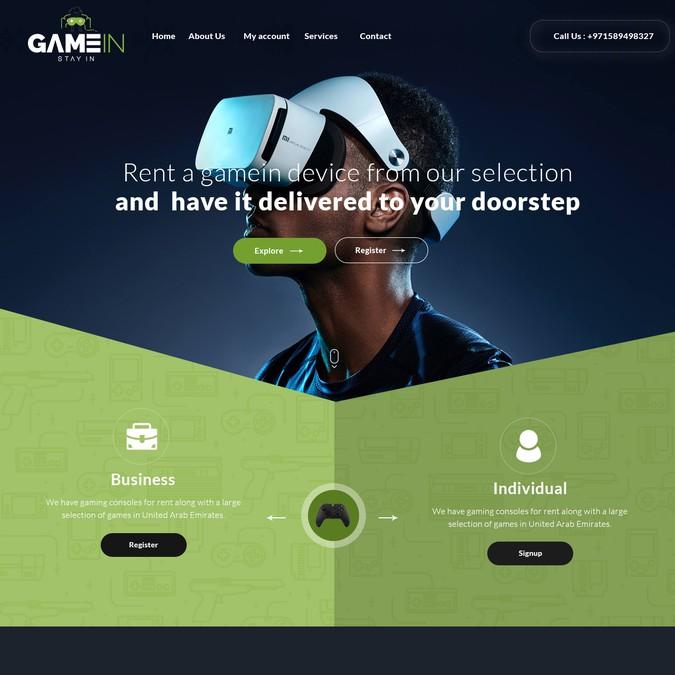 Winning design by mkswebtech