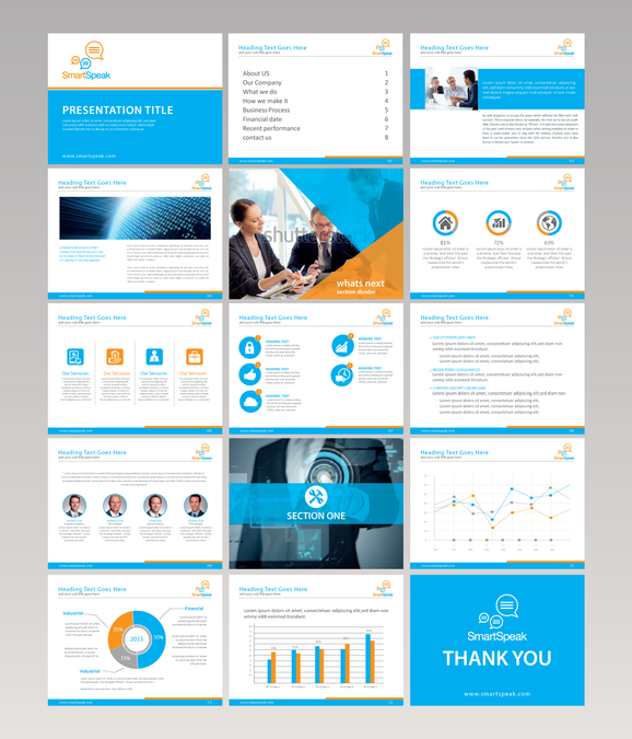 build us a creatively stunning powerpoint template パワーポイント