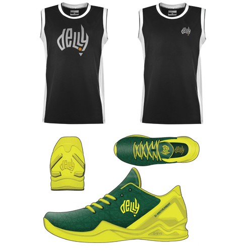 Australian NBA Player and Olympian needs a typographic logo for global branding Diseño de Steve Hai