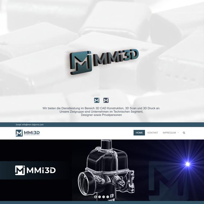 Logo Visitenkarte Erstellen Für Mmi 3d Druck Logo