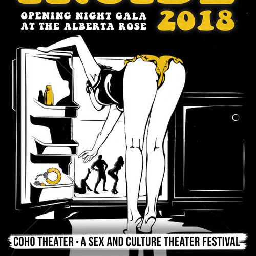 Come Inside: A Sex & Culture Theater Festival Poster Design Design by qwerty4