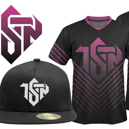 eSports Jersey/Hat/Shirt initial designs: Team Send Nudes