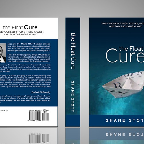 The Float Cure - Memorable Book Cover Project | Book cover