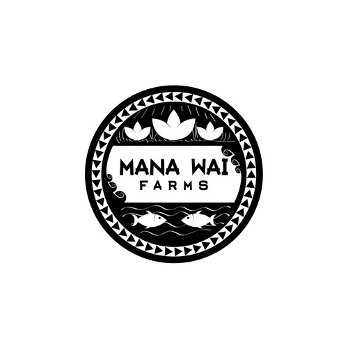 Hawaiian aquaponics company - design a modern logo Design by Daft Inker