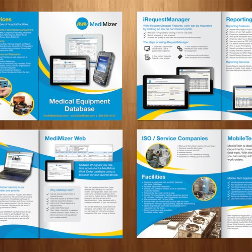 New Brochure Design Wanted For Medimizer Inc Software Brochure Contest 99designs