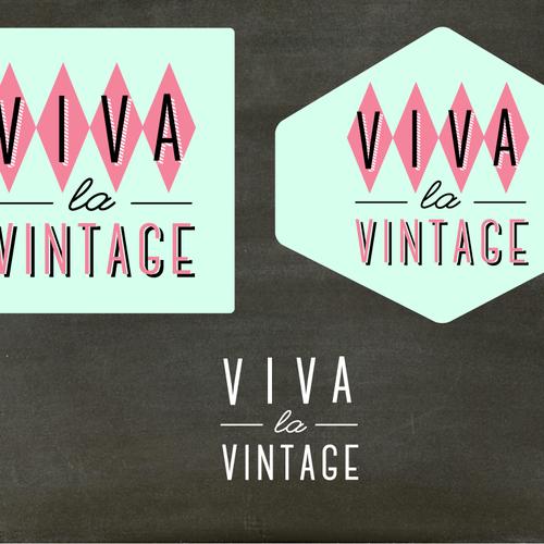 Update logo for Vintage clothing & collectibles retailer for Viva la Vintage Design by Design Artistree