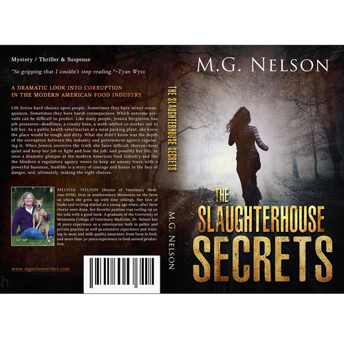 Mystery Book Cover Design ~ Book cover design for a mystery suspense thriller