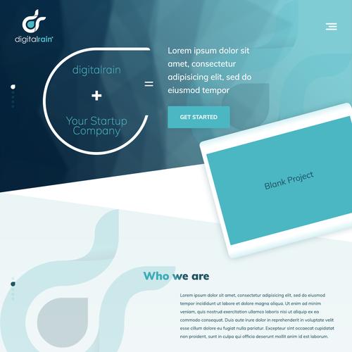 Diseño finalista de Tive Webs