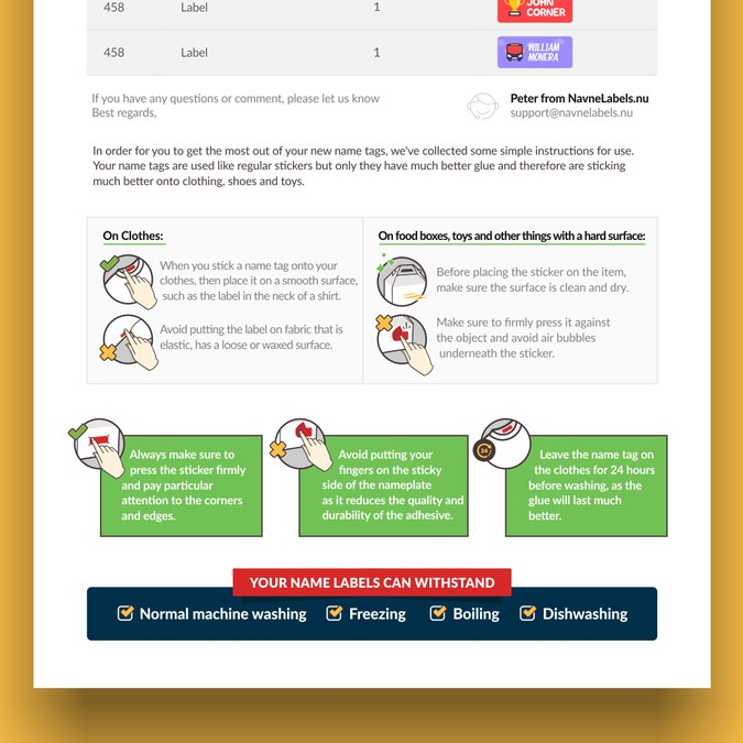 Design a coverletter with an illustration on how to use our ...