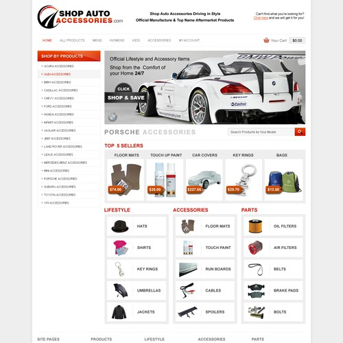Runner-up design by coolwebthemes