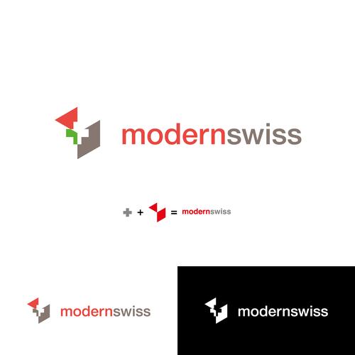 modern swiss logo design contest
