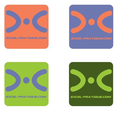 cr er un logo moderne pour un site sur le logiciel excel logo design wettbewerb. Black Bedroom Furniture Sets. Home Design Ideas