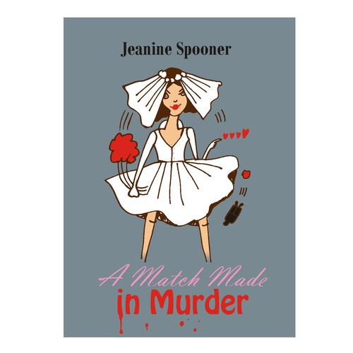 Character Design Best Book : Character design and book cover for a cozy mystery series