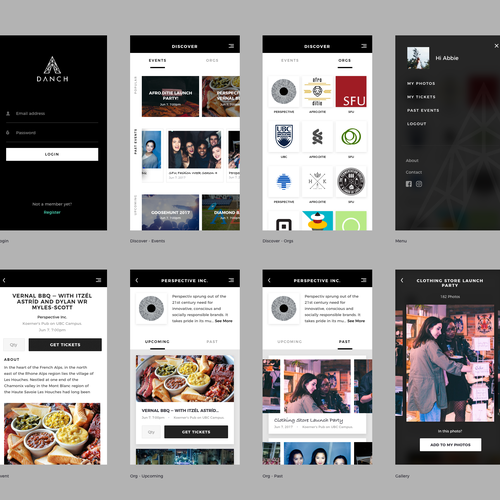 Design a stylish trendy simple app for a creative hype for Easy app design
