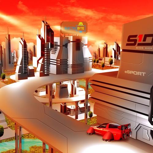 Runner-up design by Sifa Lovely Design