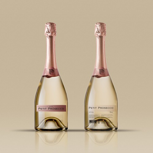 Low Calorie Prosecco Design by Rafael U.