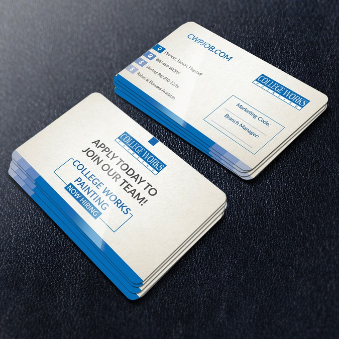Job application business card concurso carto de visita job application business card reheart Images