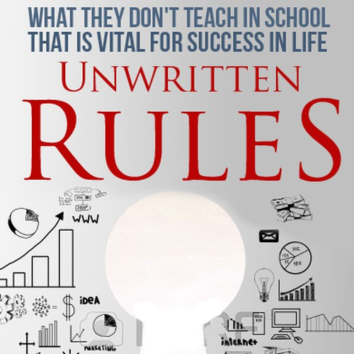 Book Cover Layout Rules ~ Book cover for quot the unwritten rules contest
