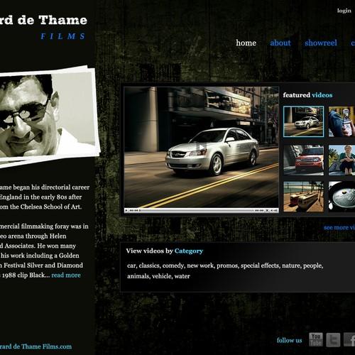 Diseño finalista de webmagix