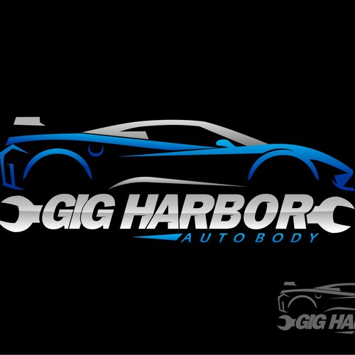 Create Logo For Auto Body Collision Repair Shop Logo Design Contest
